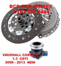 VAUXHALL CORSA  D  CLUCH KIT  COMPLETE  ( 3 PIECE )   1.3  CDTI